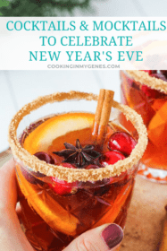 Cocktails & Mocktails to Celebrate New Year's Eve