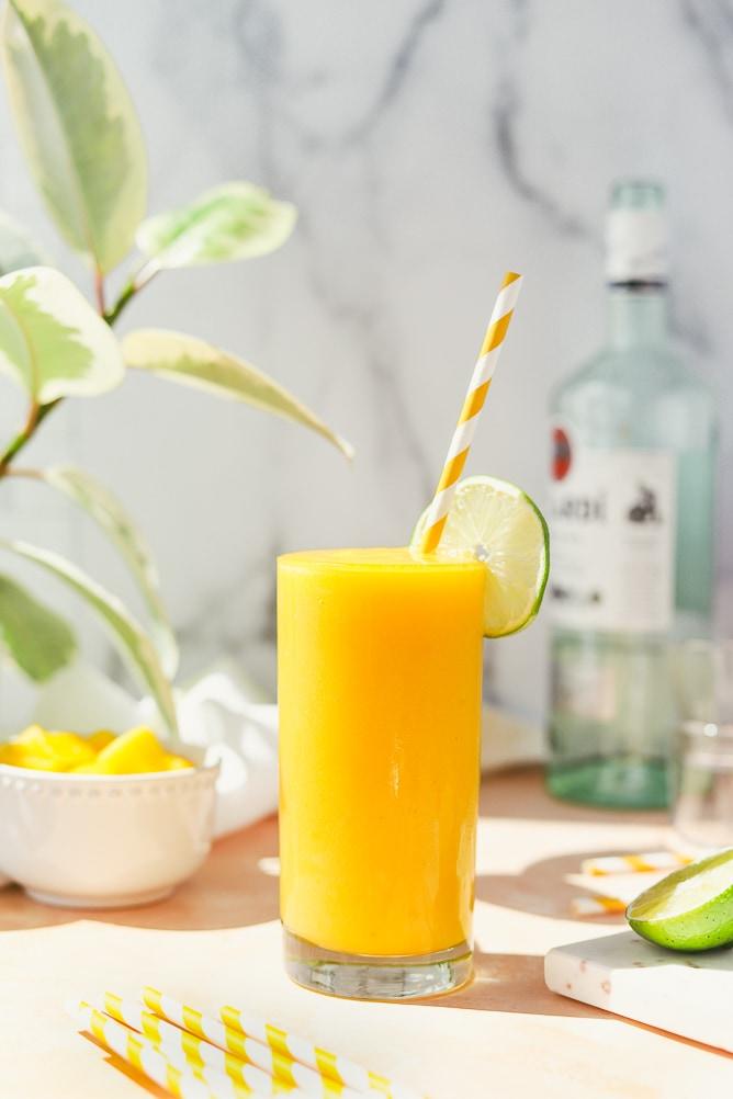 Tropical Rum Slushie