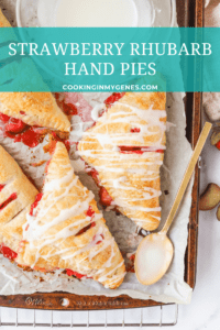 Strawberry Rhubarb Hand Pies