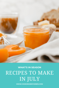 Recipes to Make in July