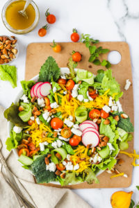 Quick Summer Green Salad
