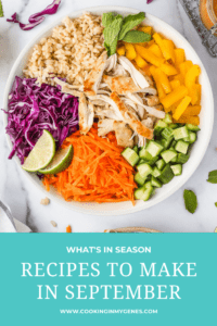 Recipes to Make in September