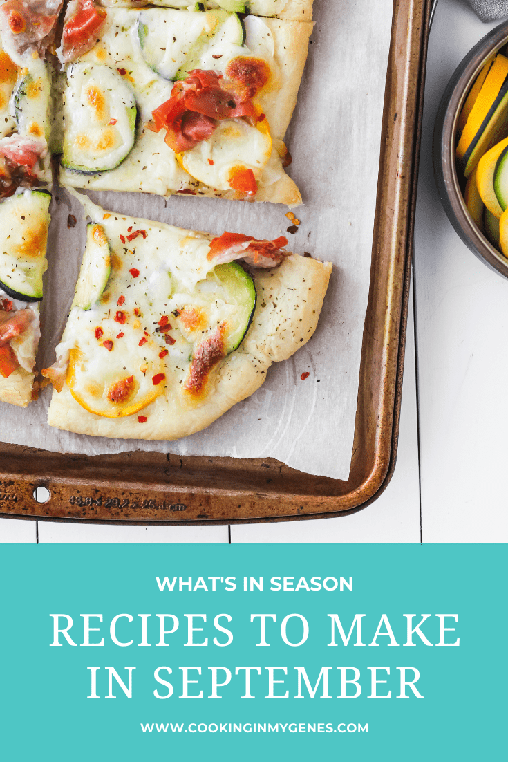 Recipes to Make in September