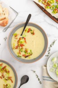 Simple Potato Leek Soup