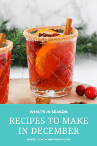 Recipes to Make in December