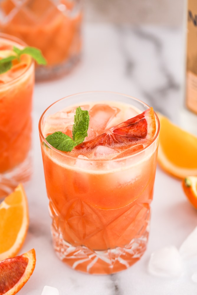 Citrus Vodka Crush Cocktail