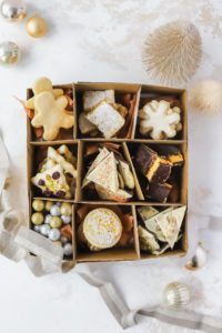 How to Make a Christmas Cookie Box