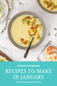 Recipes to Make in January