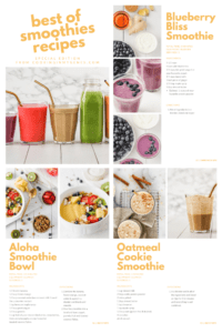 Free Smoothie Cookbook