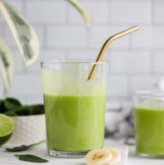 Best Green Tropical Smoothie
