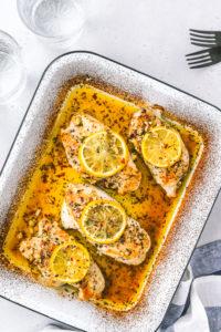 Easy Healthy Baked Lemon Chicken