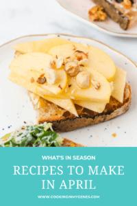 Recipes to Make in April