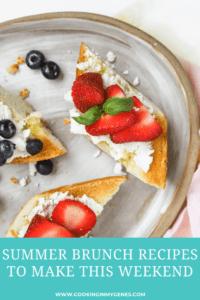 Summer Brunch Recipes