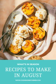 Recipes to cook in august