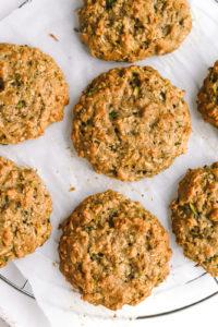 Zucchini Breakfast Cookies